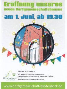 Eröffnungsfeier Dorfgemeinschaftshaus